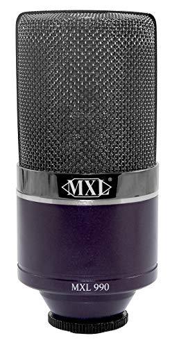 purple condenser mic - 2
