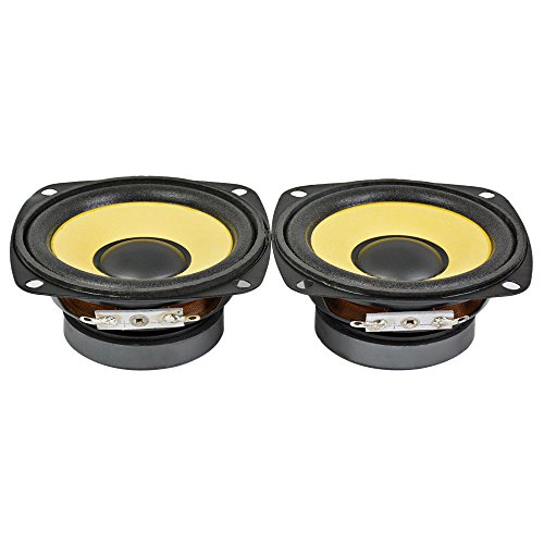 AIYIMA 2Pcs 3Inch Audio Portable Speakers Full Range 4Ohm 10W Speaker Magnetic Multimedia Loudspeaker DIY HIFI Home Theater by AIYIMA (Image #2)