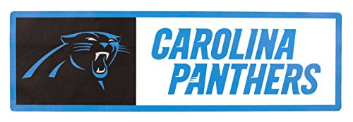 Applied Icon, NFL Carolina Panthers Outdoor Step Graphic Decal