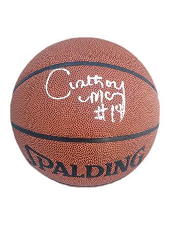 Anthony Mason Autographed Signed Spalding Indoor/Outdoor Basketball JSA W423049