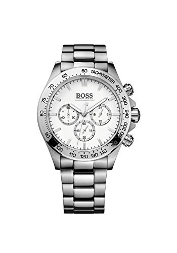 Hugo Boss Men's Chronograph Stainless Steel Bracelet Watch 44mm 1512962 by Hugo Boss