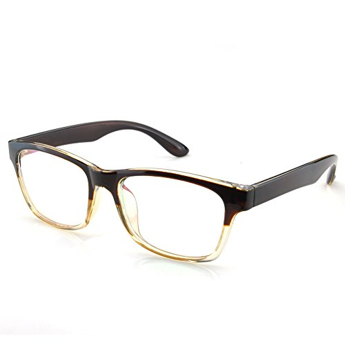PenSee Rectangular Square Rim Eyeglasses Frames Glasses