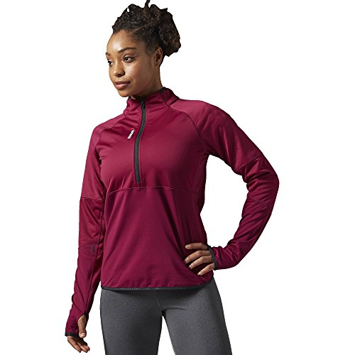 Reebok Women's Hex Thermal Quarter Zip Jacket by Reebok (Image #2)