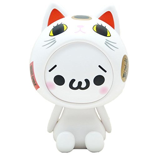 Beckoning Cat Costume ([Limited] Kaomojin odd solar beckoning cat costume, white (japan import))
