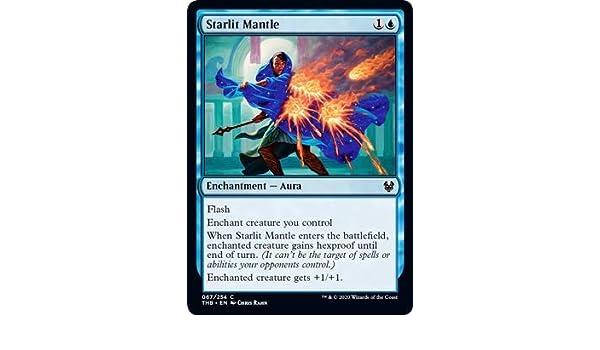 Magic: the Gathering - Starlit Mantle - Manto Illuminato di Stelle - Theros Beyond Death: Amazon.es: Juguetes y juegos