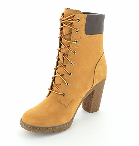 Timberland Damen Glancy 6in Kurzschaft Stiefel Wheat