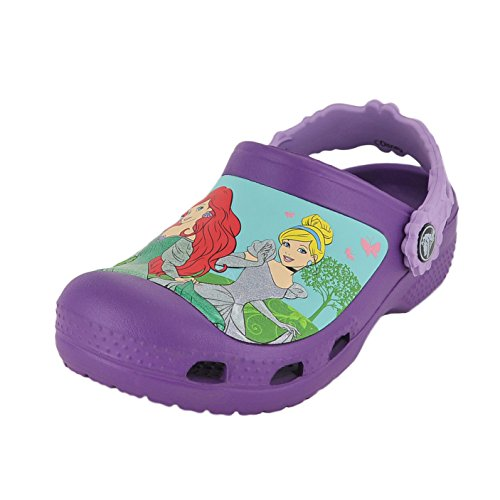 Princess Iris (crocs Magical Day Princess Clog (Toddler/Little Kid),Amethyst/Iris,12 M US Little Kid)
