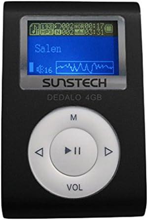 Sunstech Dedalo - Reproductor de MP3 (4 GB, pantalla de 1,1 ...