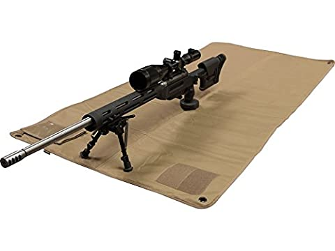 MidwayUSA Lightweight Tactical Shooting Mat Coyote - Coyote Target