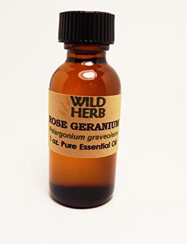 Bulk Rose Geranium Essential Oil Organic (8 oz) -