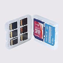 Interesting® 8 Slots Micro SD TF SDHC MSPD Memory Card Protecter Case Box Storage Holder