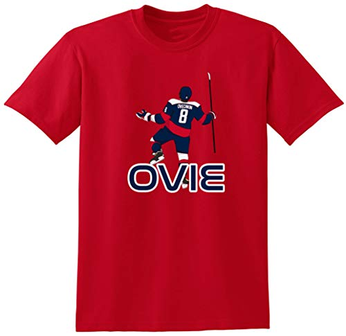 (RED Washington Ovechkin Ovie Pic T-Shirt Toddler)