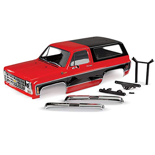 Traxxas 8130R - TRX-4 1979 Chevrolet Blazer Pre-Cut Body, Complete, Red