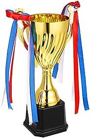 TOYANDONA Golden Trophy Cup Large Award Trophy Cup Sports Award Trophy Competitive Trophy Honor Trophy for Spo