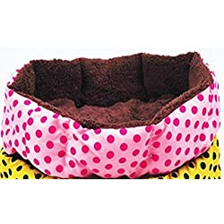 Pet Houses pet Products pet Dog Bed Dog House Short Floss Warm Puppy Warm Ben House cat Bed Assorted Colors Supply