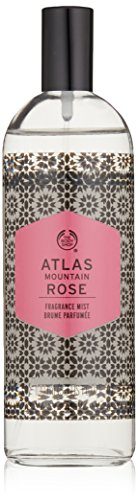 The Body Shop Atlas Mountain Rose Fragrance Mist, 3.3 Fluid Ounce Cassis Rose Perfume