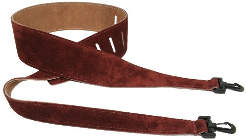 Perris Leathers P25SBJ-210 2.5-Inch Soft Suede Banjo Strap
