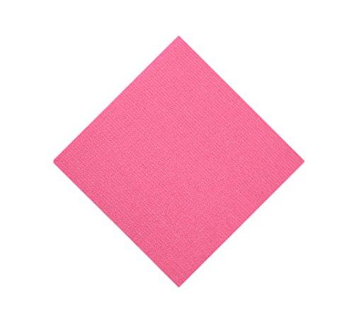 Insun Indoor Carpet Tiles Peel and Stick Non Slip Floor Carpet Tiles Static Adhesive DIY Pink 24 inch x 24 inch 1pc