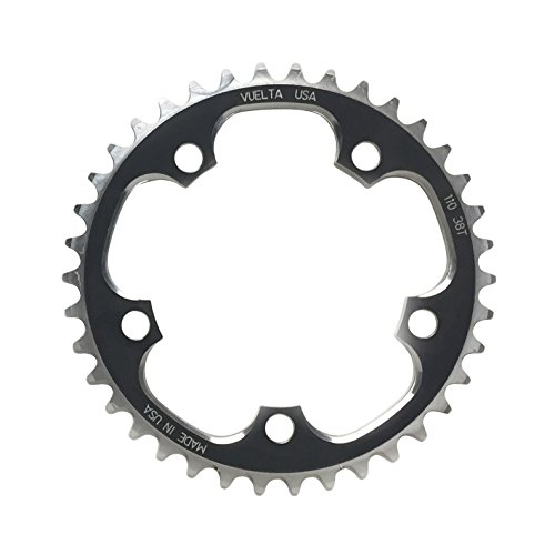 Vuelta SE Flat 110mm/BCD 53T Chain Ring, Black ()