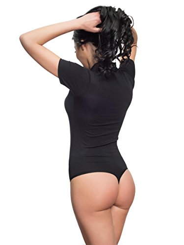Evoni - Body - para mujer negro