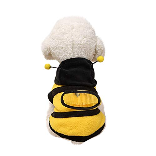 AKwell Pet Dog Cute Bumble Bee Lovely Wings