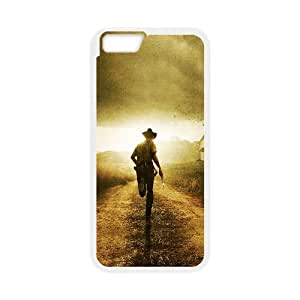 iPhone 6 4.7 Inch Cell Phone Case White The Walking Dead Run Ymfta