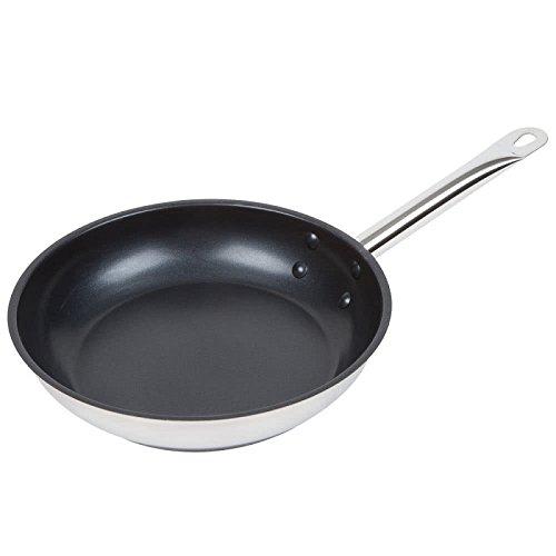 Cooking Eggs Stainless Steel Pan (Royal Industries Nonstick Fry Pan 9
