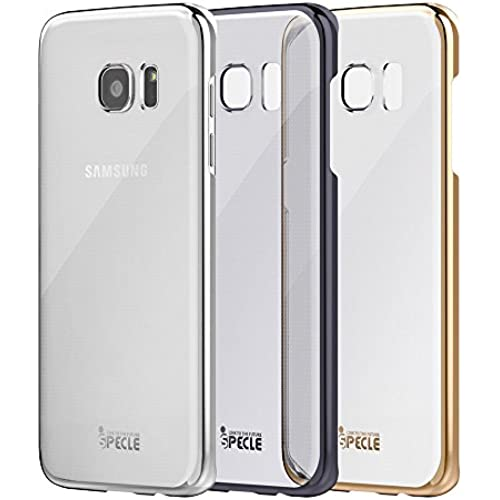 iSPECLE Galaxy S7 Edge Case (3-Pack) - Ultrathin-Fit with Hard PC Back Shell- Clear Cover Protective with Electroplated Sales