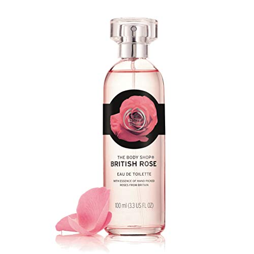 The Body Shop British Rose Eau De Toilette Perfume - 100ml