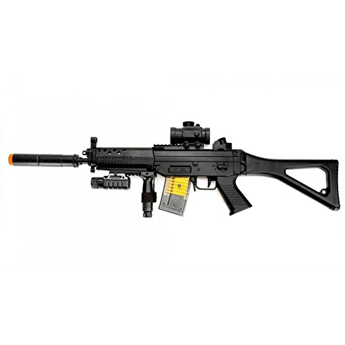 Double Eagle M82 Full Auto Airsoft Electric Gun Folding stoc