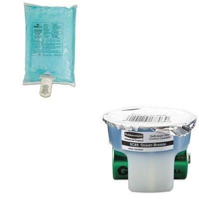 KITRCP750112RCP9C8501 - Value Kit - Rubbermaid SeBreeze Fragrance Cassette (RCP9C8501) and Rubbermaid Autofoam Hand Soap Refill ()