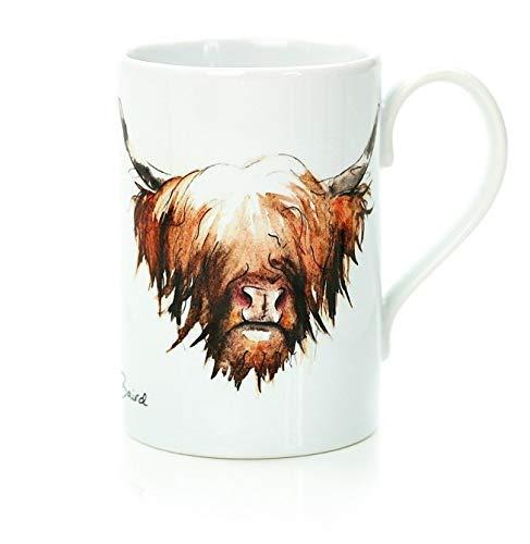 Clare Baird Creations Highland Cow Porcelain Mug