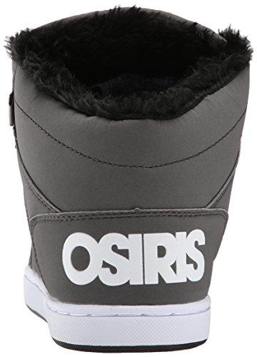 Osiris Convoy Mid Shearling Charcoal/White/Black. Charcoal/White/Black