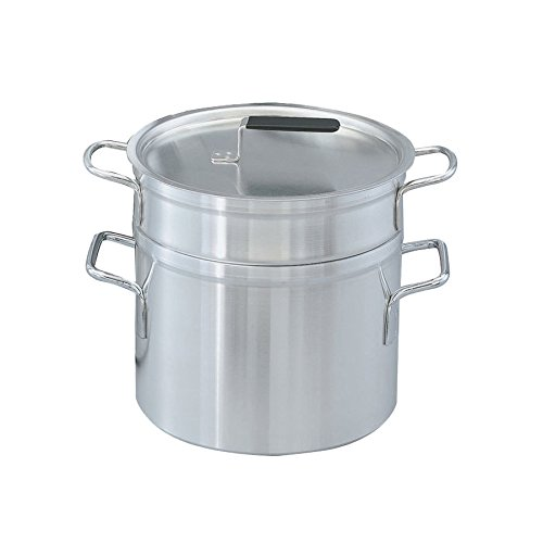 Vollrath 67711 Wear-Ever 11 Qt. Aluminum Double Boiler Set