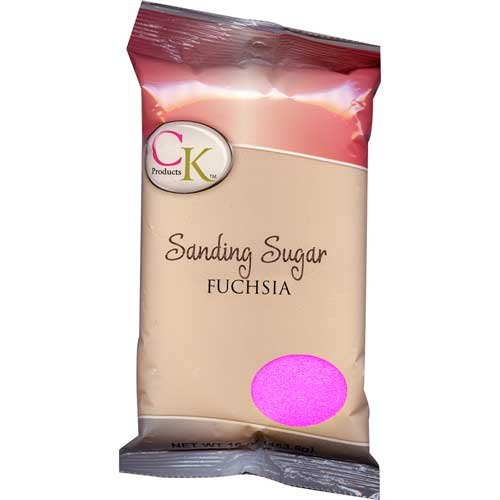 CK Products No.1 Sanding Sugar, Fuchsia ()