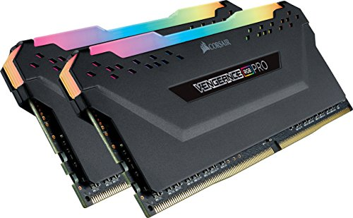 CORSAIR VENGEANCE RGB PRO 16GB (2x8GB) DDR4 3200MHz C16 LED Desktop Memory - Black ()
