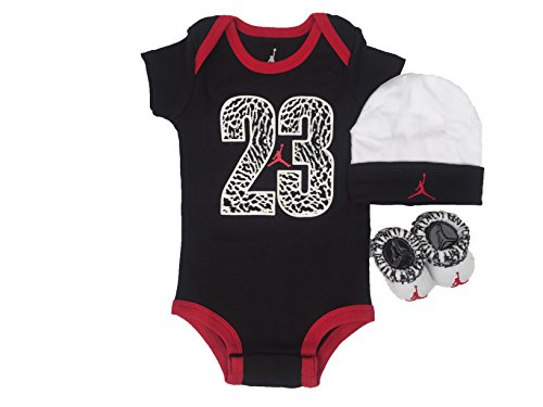 Nike Baby Boys' 3-Piece Set - black, 0 - 6 - Sale Jordans Kids