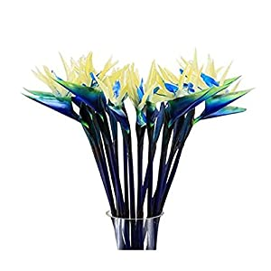 "Dect 31"" Bird of Paradise Artificial Flowers Tropical Fake Flower Bouquet for Home Hotel Decoration or Wedding Pack of 6 42"