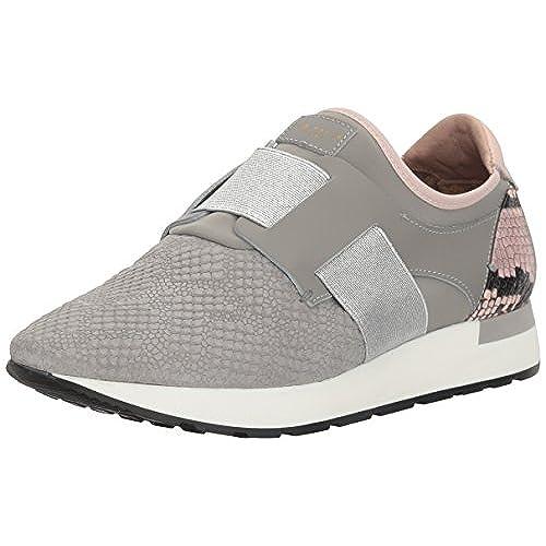 832acb0ec Ted Baker Women s Kygoa Lthr AF Grey LT Pink Sneaker new - abpol ...