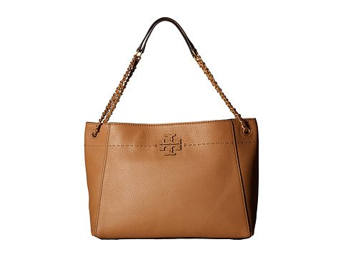 (トリーバーチ) TORY BURCH ハンドバッグ McGraw Chain-Shoulder Slouchy Tote [並行輸入品] B075RXSNCGBaguette