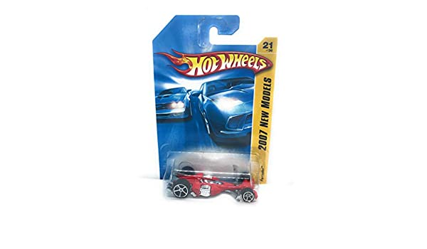 2007 New Models #21 Nitro Scorcher Silver Open Hole 5 Spoke Wheels Collectibles Collector Car #2007-21 Hot Wheels