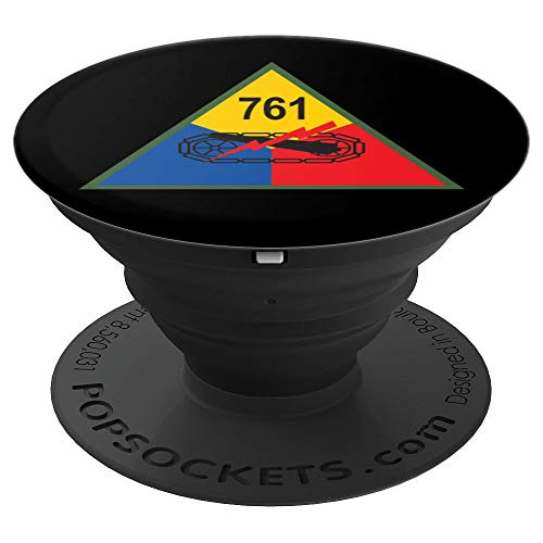 761st Tank Battalion PopSockets Grip and Stand for Phones and Tablets