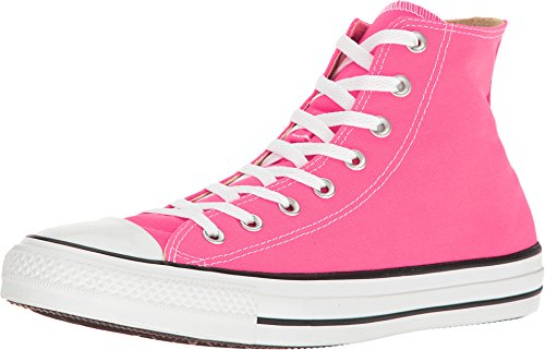 Pink Converse Shoes - Converse All Star Hi Pink Pow Size 8.5
