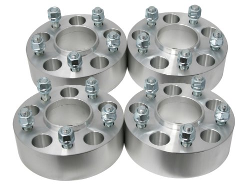 4pc 2″ Thick – HUBCENTRIC Wheel Spacers 5×5 to 5×5 (Same Bolt Pattern) with 71.5mm bore & 1/2″ Studs – for Jeep Grand Cherokee Commander Wrangler XK JK WK (5×127)