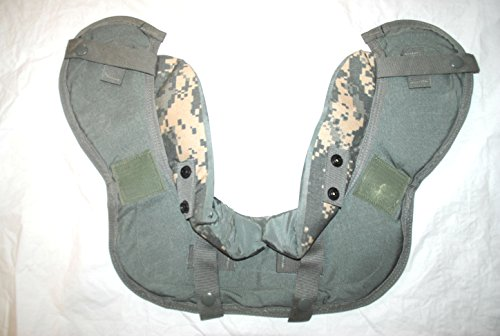 Genuine Us Military Acu Body Armor Yoke & Collar Protector - X-Large