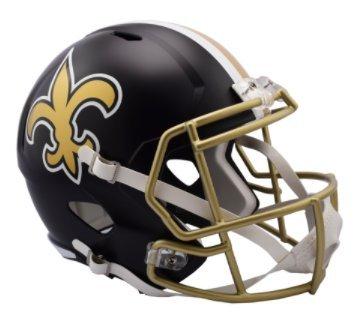 New Orleans Saints Replica Helmet - 9