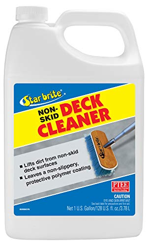 (Star brite Non-Skid Deck Cleaner & Protectant - Wash Grime out of Non-Slip Surfaces & Protect from Future Stains)