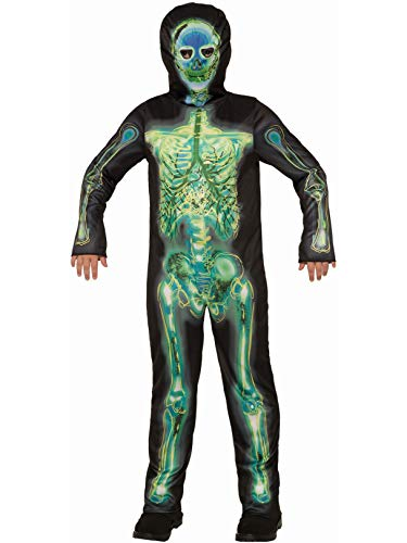 Forum Novelties Child's Radioactive Skeleton Costume, Small ()