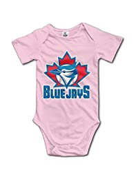 Toronto Blue Jays BABY Cute Short Sleeves Variety Baby Onesies Body Suits For Babies