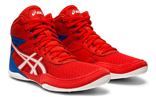 f0713058 ASICS Kid's Matflex 6 GS Wrestling Shoes, Classic Red/White, 6 M US Big Kid
